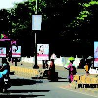 Jubileebusstation Polekiosk Advertising, in Hyderabad - MeraHoardings