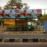 Tarnakaroad Busshelters Advertising, in Hyderabad - MeraHoardings