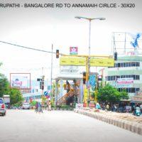 Fixbillboards Annamaiahcircle Advertising in Tirupathi – MeraHoardings