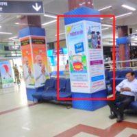 Patna Hoarding Advertising in Pillar