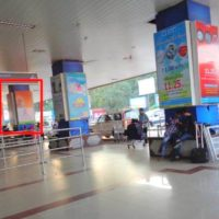 Patna Hoarding Advertising in Airport Canopy Pillar