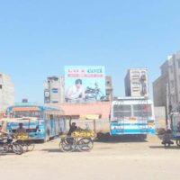 Hanumangarh Hoarding Advertising in Bus Stand