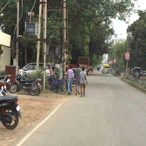 Rose Garden Pole Kiosks In Bathinda Punjab – Merahoardings